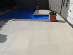 Rejuvenate your old concrete with Newlook Solid colour stains. colour used here was Sierra