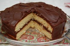 Yellow Cake with Boiled Chocolate Frosting - Cooking from Scratch - gDonna's Generations Before Us Chocolate Cake Frosting, Fudge Frosting, Cookie Recipes, Dessert Recipes, Desserts, Tastee Recipe, Cake Tasting, Before Us, Sweet Treats