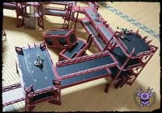 Towers and Walkways (by Miniature Scenery) #ChaoticColors #commissionpainting #paintingcommission #painting #miniatures #paintingminiatures #wargaming #Miniaturepainting #Tabletopgames #Wargaming #Scalemodel #Miniatures #art #creative #photooftheday #hobby #paintingwarhammer #Warhammerpainting #warhammer #wh #gamesworkshop #gw #Warhammer40k #Warhammer40000 #Wh40k #40K #terrain #scenery #Scifi #miniaturescenery #Towers #Walkways #killteam