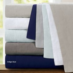 You'll love the Washed Belgian Linen 3 Piece Duvet Cover Set at Wayfair - Great Deals on all Bed & Bath  products with Free Shipping on most stuff, even the big stuff.