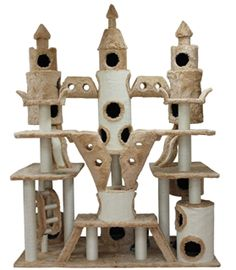 My kitties would love me forever if I got this for them! Extra Large Huge Cat Tree, Large Cat Condo, Large Cat Furniture
