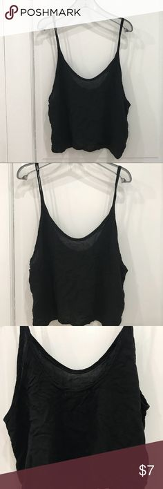 Brandy Melville Low Back Tank ONE SIZE (fits S/M)  In great condition. Lightweight material. Small teeny-tiny hole by the label. Brandy Melville Tops Camisoles