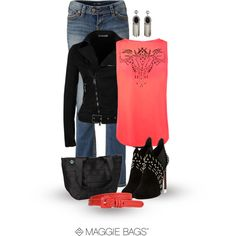 """""""Coralie"""" by maggiebags on Polyvore"""