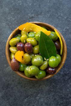 Warm Marinated Olive
