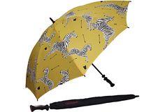Hmmmm Scalamandré textile in umbrella form:)