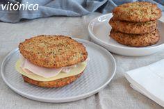 Tu dieta semanal con Vitónica: menú equilibrado recomendado para diabéticos Pan Burgers, Salmon Burgers, Weekly Menu, Sports Nutrition, Sin Gluten, Health Fitness, Veggies, Low Carb, Keto