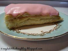 My Dutch Baking: Tompoes, Tom Pouce, Napoleon