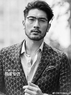 Godfrey Gao elegant men's cut #avedaIBW #lexi'screations02