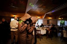 Star Wars Themed Wedding Reception with Jawas