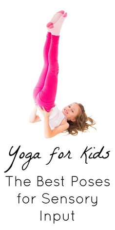 Yoga for Kids: A Sensory Input Goldmine! - Yoga for Kids: A Sensory Input Goldmine! Yoga for kids with SPD. These poses are a GOLDMINE of sensory input! Sensory Issues, Sensory Diet, Sensory Play, Yoga For Kids, Exercise For Kids, Kids Yoga Poses, Brain Gym For Kids, Motor Activities, Toddler Activities