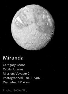 - a Uranus Moon Space Story, Space Time, Hubble Space, Space And Astronomy, Moon Information, Moon Orbit, Astronomy Pictures, Planets And Moons, Space Facts