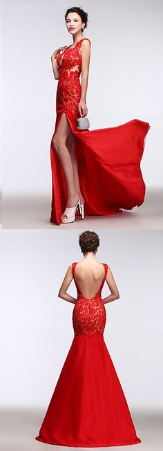 It can't get more sexy than a red organza dress with a gorgeous side slit! Looking for a perfect fit? For an additional USD $ 0, our tailors will use your exact measurements to create a made-to-order dress just for you!! Click for more details.