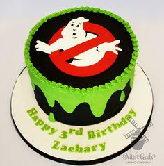ghostbusters cake you Dutch Girls Baking Co