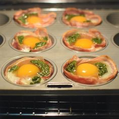 Go forth and cook, my pretties! @iquitsugar bacon and egg 'cupcakes', with a little basil pesto swirled through the top. I make these often, because they're so easy! During the last #iqs8wp someone (unfortunately I can't remember who it was so I can't credit them!) had the brainwave of using pancetta instead of bacon, which makes these even easier to make - no chopping required, the pancetta fits perfectly. Ready in 15 minutes. The recipe is on the @iquitsugar website. #IQS Egg Cupcakes, Basil Pesto, Sushi, Bacon, Folk, Eggs, Favorite Recipes, Website, Cooking