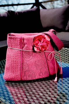 Lovely bag! Create with the collection Fancy Fabric! #467