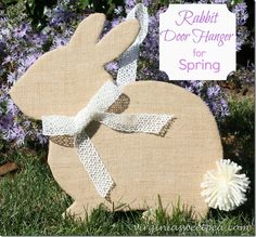 Rabbit Door Hanger a