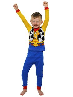 f04f78b9496 This sleepwear set features costume-style graphics of the Disney s Toy Story  character  Woody