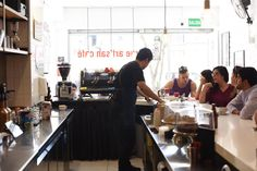 Coffee shops in Lima (Photo credit: True Artisan Cafe, Miraflores, Peru