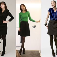 """Business Casual - A guide to dressing for work in the style of """"Business Casual"""". Selections for men and women, pictures for the creative types, and the do's/dont's of work-place attire."""