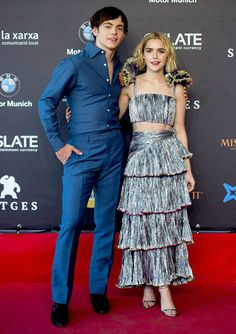 "Style File: ""The Chilling Adventures of Sabrina"" Stars Kiernan Shipka and Ross Lynch 