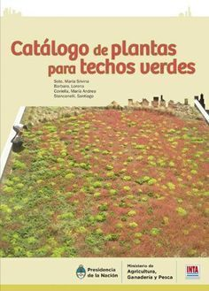 Catálogo de plantas para techos verdes #techosverdes
