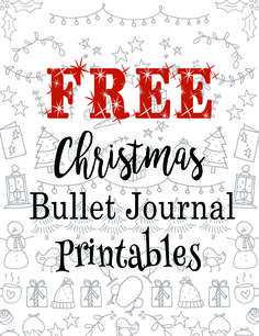 FREE Christmas Bullet Journal Printables.