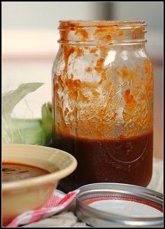 Kansas City-Style Barbecue Sauce.  Healthier than store bought, low sodium and less calories.