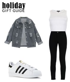 """""""Untitled #154"""" by yese-salazar ❤ liked on Polyvore featuring Topshop, STELLA McCARTNEY and adidas"""