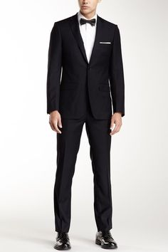 Suit up: DKNY Deklab Navy Wool Suit by Tailored Tuesdays on @HauteLook
