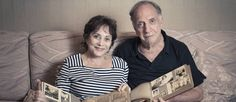 O casal Eva e Arthur relembram trajetória de suas famílias na cidade do Rio Foto: Leo Martins / Agência O Globo
