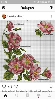 Cross Stitch Needles, Cross Stitch Heart, Beaded Cross Stitch, Cross Stitch Flowers, Cross Stitch Embroidery, Cross Stitch Designs, Cross Stitch Patterns, Cross Stitch Landscape, Cross Stitch Kitchen
