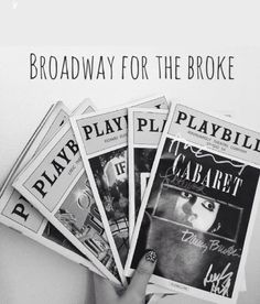 Broadway for the Broke: How to NEVER Pay Full Price! Take it from an expert.