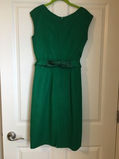True vintage.  Click on pin for more pics, measurements and details. $50 plus shipping Vintage 1950s Dresses, Vintage Outfits, Buy My Clothes, Satin Bows, Summer Dresses, Skirts, Stuff To Buy, Beauty, Fashion