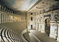 Teatro Olimpico (Olympic Theatre in Vicenza, Northern Italy).It is the oldest surviving enclosed theatre in the world - Andrea Palladio Andrea Palladio, Architecture Baroque, Classical Architecture, Beautiful Architecture, Vicenza Italy, Venice Italy, Non Plus Ultra, Voyage Europe, Viajes