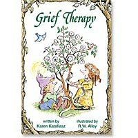 Abbey Press Grief Therapy Book From Elf-Help Series bound paperback 88 pages --- http://www.amazon.com/Abbey-Press-Therapy-Elf-Help-paperback/dp/B00B5EVKAY/?tag=weighloss0e-20