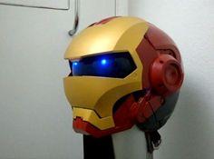 superhero helmets_iron man http://randommization.com/2011/05/14/sci-fi-helmets-make-you-the-superhero-of-your-choice/