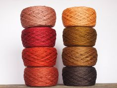 8 Balls Natural Linen Yarn High Quality Linen Yarn by LinenSpirit, $23.20