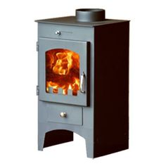 POD Fourteen - POD Stoves     The Pod Fourteen has a steel body giving a maximum of 10kw of heat with a nominal output of 5kw. A contemporary design with a large ceramic glass window gives an excellent view of the fire, the stove is available in matt grey. Internally it's fully lined with firebricks.