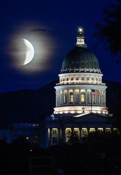 Supermoon lunar eclipse 2015  @ Washington / USA