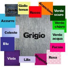 Abbinamento colori: grigio