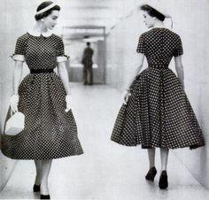 Polka dots, Life Magazine, 1954