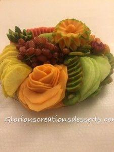 Fruit platter for Birthday party
