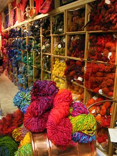 Yarn at Woolstock Knitting Shop