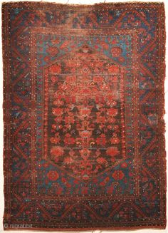 Antique Turkish Kula Rug Circa A Piece Of Genuine Woven Carpet Art Sold By The Santa Barbara Design Center And Rugore