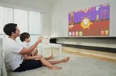 Egger: Fun child-friendly interactive projector.  Wouldnt it be more fun for kids if learning can be more interactive and intuitive? Augmented reality technology or AR is becoming a useful tool for enhanced learning and fun activities for children. With the Egger interactive projector its easy for parents and teachers to guide children towards a more immersive and fun learning environment. #techstartups #tech #gadgets #crowdfunding #technology #gadget #startups #techstartup #startuplife…