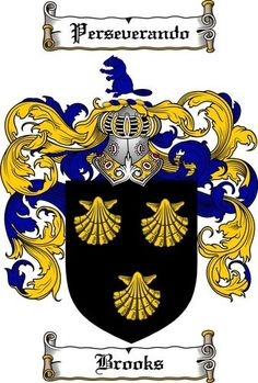 Brooks coat of arms / family crest