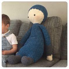 Grote knuffel #haken #lalylala #crochet