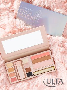 Meet the Jetsetter palette—Gigi Hadid's breakout palette in partnership with Maybelline! Full of eye shadows, blush, lip color and mascara, it's the perfect all-in-one palette for glam on the go.