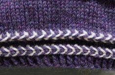Latvialainen palmikko | Meillä kotona Knitted Hats, Knitting Patterns, Accessories, Socks, Dots, Knit Patterns, Sock, Knitting Stitch Patterns, Stockings
