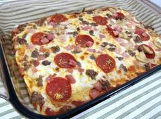 """NO DOUGH PIZZA 